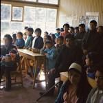 Une réunion à l'école