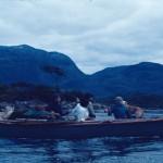 Qawasqar dans leur bateau