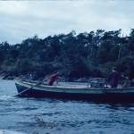 Le bateau du scaphandrier
