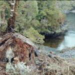 Cabane des pêcheurs dans les canaux