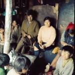 José Tonko, Gabriela Paterito et leurs enfants chez eux