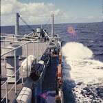 Le bateau de marine de guerre « Aguila »