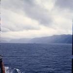 A partir du bateau de marine de guerre « Aguila »