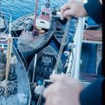 Passage d'un bateau étranger par Puerto Eden
