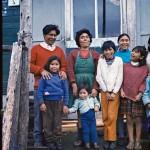 Alberto Achacaz, Margarita Molinari, Nora Lopez et des enfants