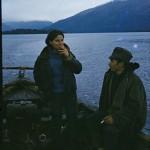 Julie Bontempi et un « poblador »