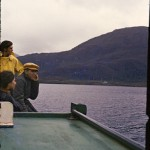 Julie Bontempi et Rodrigo Medina à bord du « Pata-pata »