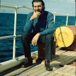Christos Clairis à bord de la  Calypso