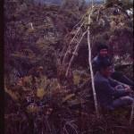 Simulation de la fabrication d'une hutte : Panchote et Alberto Achacaz